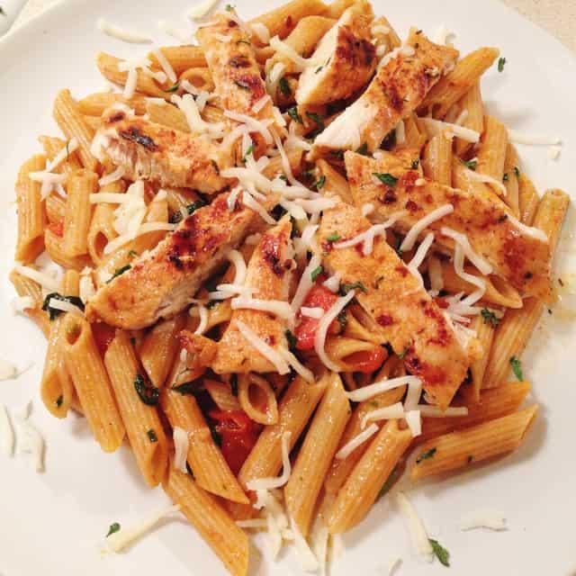 Barbecue Pork And Penne Skillet Recipe: Cajun Chicken Penne Pasta